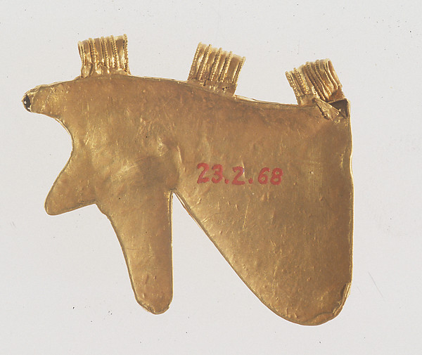 Gold Wedjat Eye Amulet