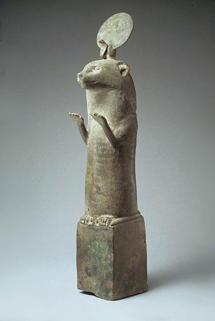 Otter statue