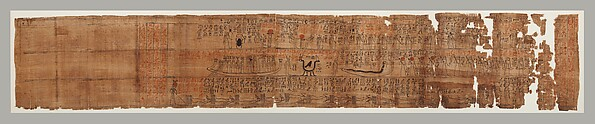 """Amduat"" Papyrus of Henettawy, daughter of Isetemkheb"