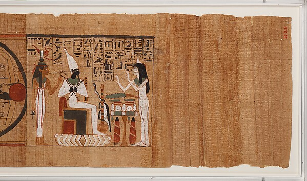 Netherworld Papyrus of Gautsoshen