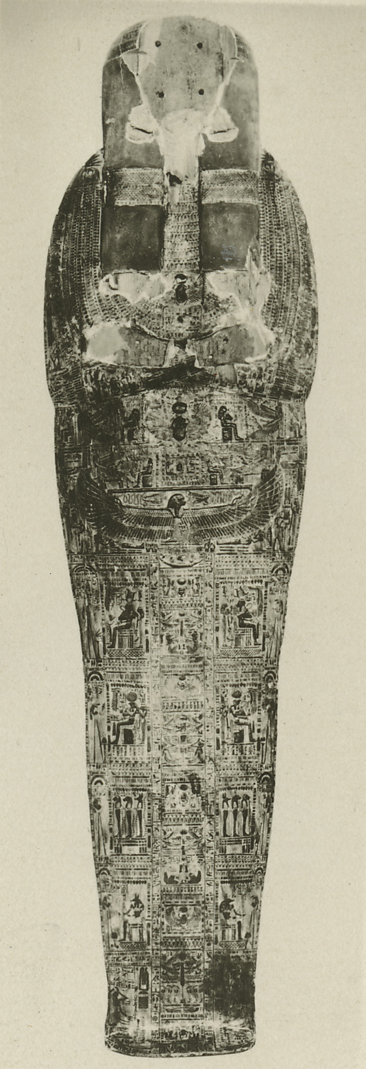 Mummy Board of Henettawy (C), Probable Sister-Wife of High Priest of Amun Smendes