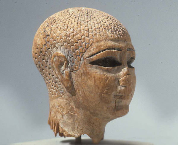Head of a Female Figure from the Tomb of Khety