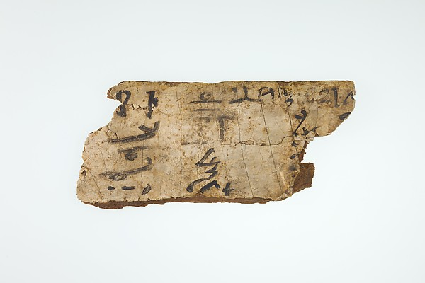 Fragments from a Scribe's Writing Board