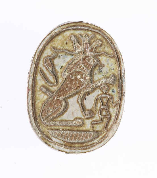 Scarab Inscribed With a Protective Motif