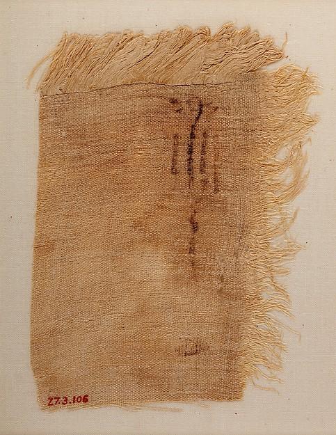 Linen mark
