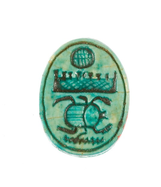 Scarab Inscribed for Menkheperenre (Thutmose III)