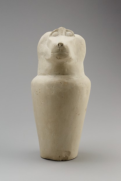 Dummy jar with baboon head (Hapy)