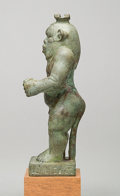 Bes-image of the god Hor-Asha-Khet