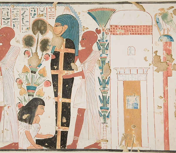 Purifying and Mourning the Dead, Tomb of Nebamun and Ipuky