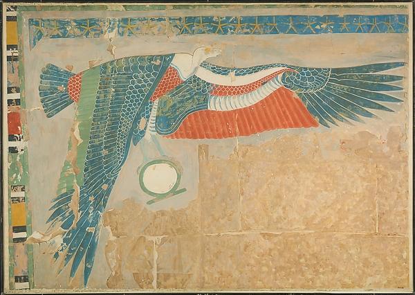 The Goddess Nekhbet, Temple of Hatshepsut