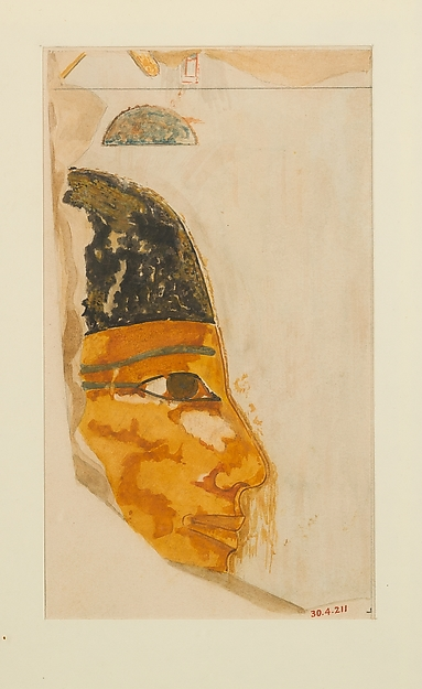 Face of Seniseneb, Tomb of Puyemre