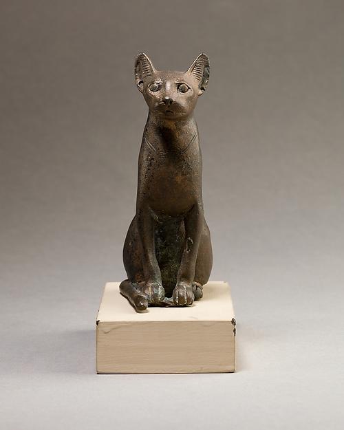Cat figurine