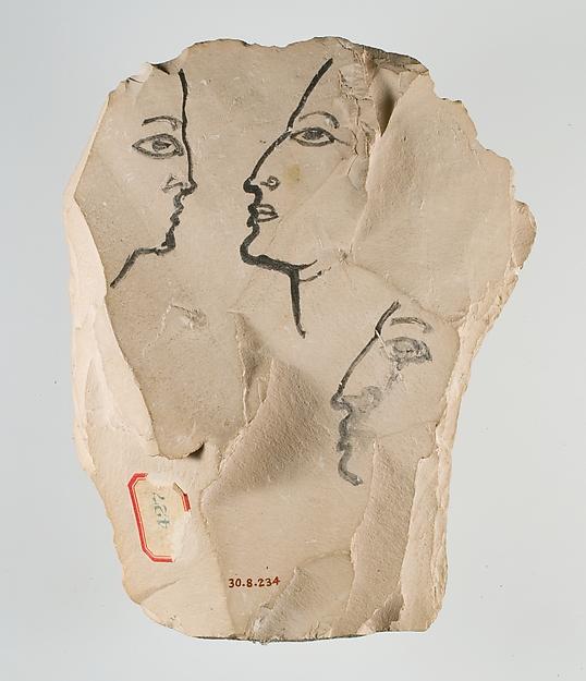 Artist's Sketch of Ramesses IV