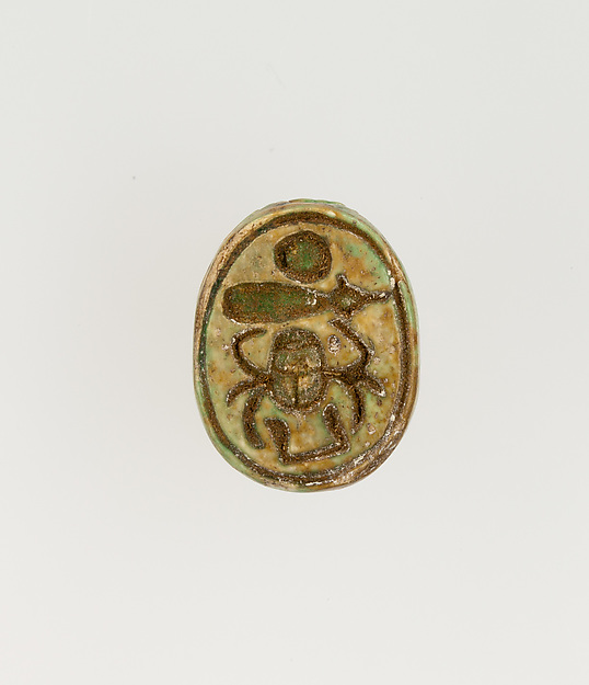 Scarab Inscribed with the Throne Name of Thutmose I