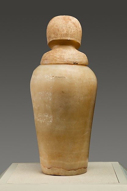 Canopic Jar with a Lid in the Shape of a Royal Woman's Head