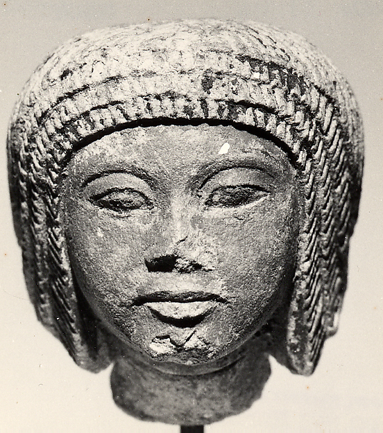 Head from a statuette