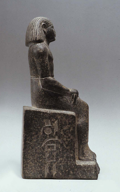 Seated statue of Kay