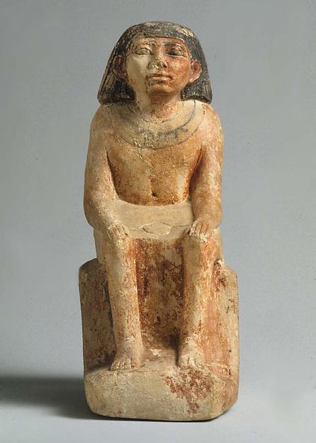 Statuette of man