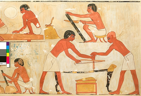 Carpenters at Work, Tomb of Rekhmire