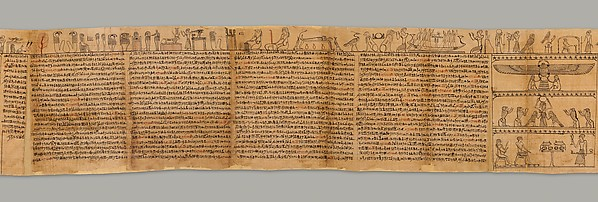 Book of the Dead of the Priest of Horus, Imhotep (Imuthes)