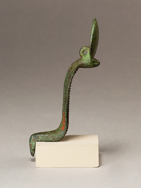 Uraeus, fitting from shrine