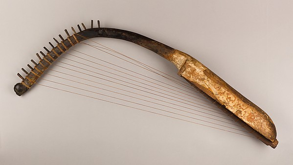 Arched Harp (shoulder harp)