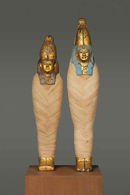 Mask and Foot Cover of Osiride Figure