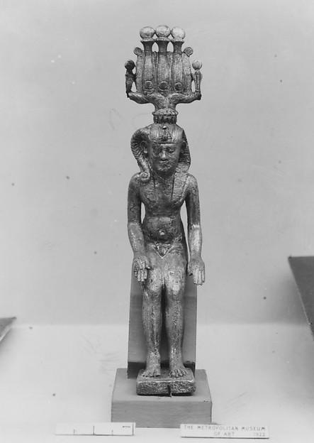 Statuette of Harpokrates