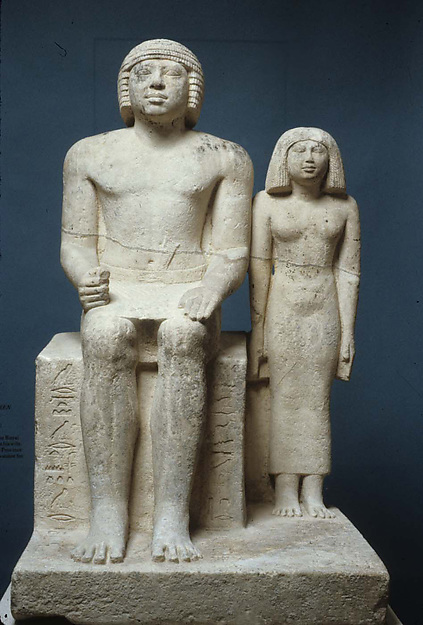 Statue of Demedji and Hennutsen