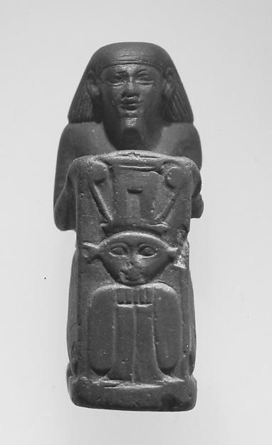 Miniature Sistrophorous Statue