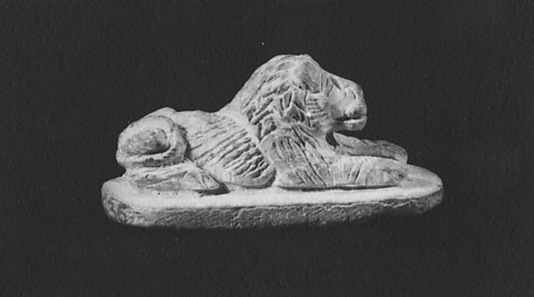 Seal in the Form of a Lion, Inscribed for Nehy's Son, Senbef