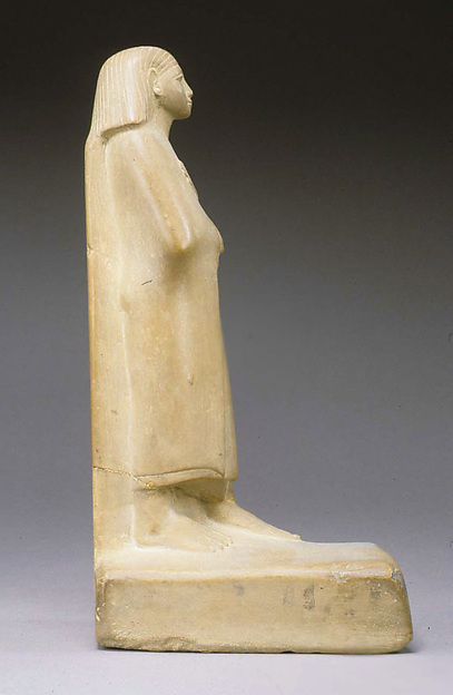 Statue of a Cloaked Man
