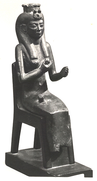 Statuette of Isis
