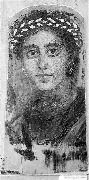 Portrait of a young woman in red