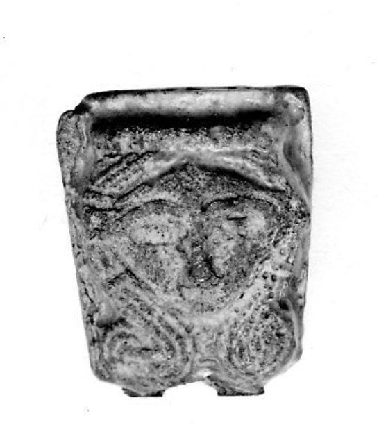 Hathor Head from a Sistrum Handle