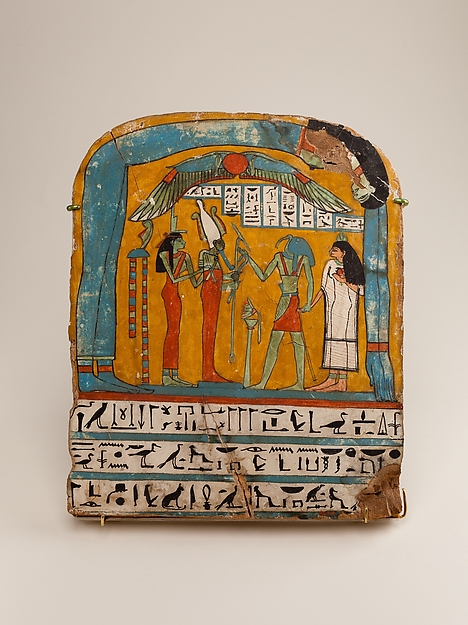Painted wooden panel of Tabakenkhonsu
