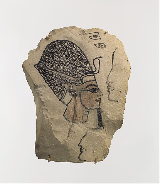 Artist's Sketch of Ramesses IV