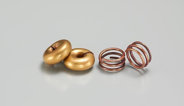 Pair of Penanular Earrings (with 16.10.474)