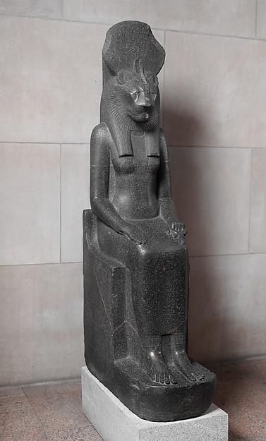 Statue of the Goddess Sakhmet