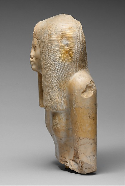 Upper Part of the Seated Statue of a Queen