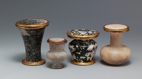 Ointment jar and lid naming Thutmose III