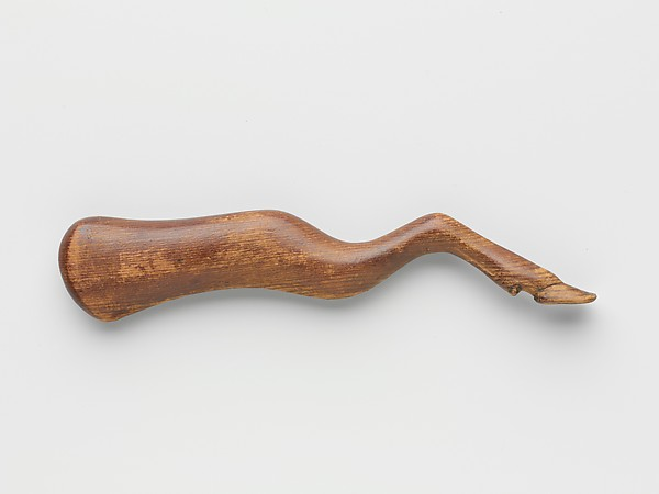 Model of the foreleg of a horned animal, perhaps from a foundation deposit