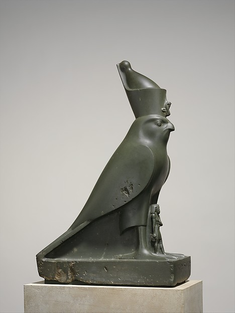 God Horus Protecting King Nectanebo II