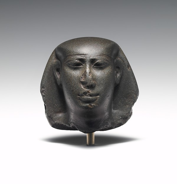 Head of King Amasis, reworked for a non-royal individual