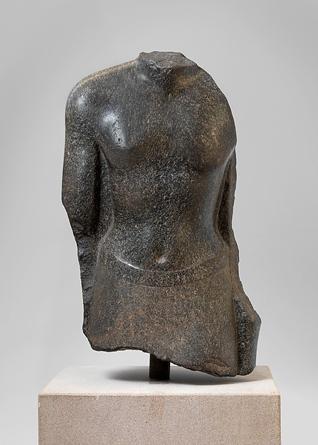 Torso of an official of Nectanebo I