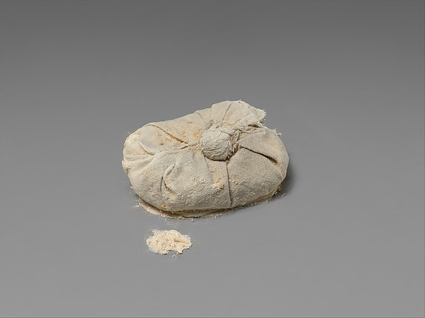 Bag of Natron from Tutankhamun's Embalming Cache