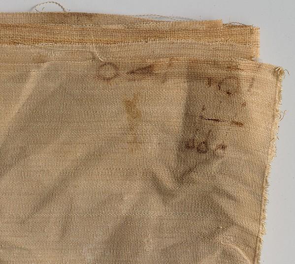 Inscribed Linen Sheet from Tutankhamun's Embalming Cache