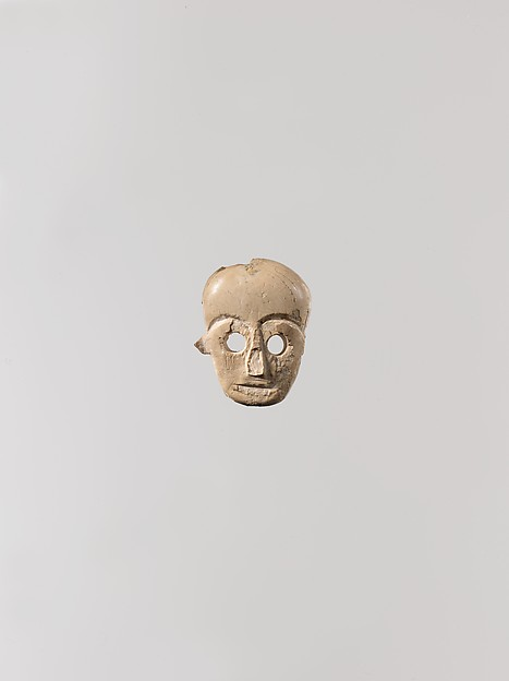 Face from a statuette