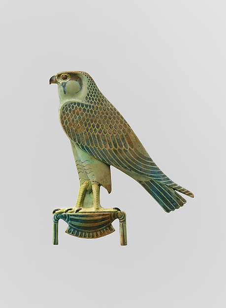 "Inlay Depicting ""Horus of Gold"""