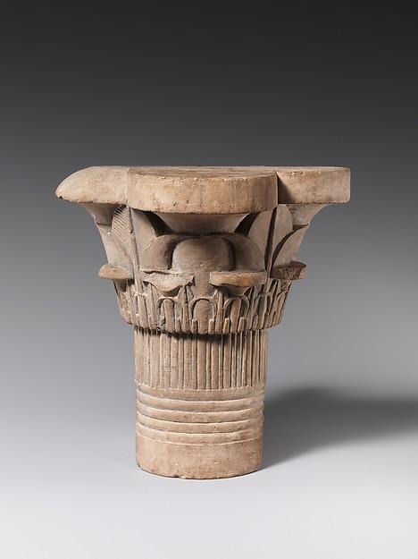 Model column capital